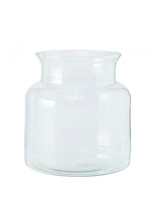 Vase Eco-Glas, H 20,00 cm, Kla