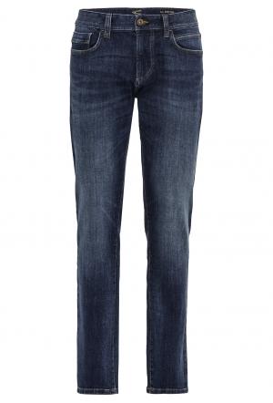 Regular Fit Jeans aus Baumwoll