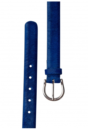 Real Leather Belt In Kick Colo