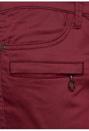 Slim Fit Cargo Hose mit Zipp