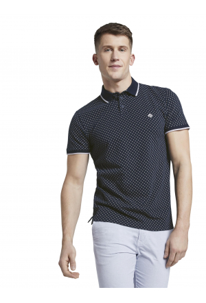 alloverprinted polo - 22220/na