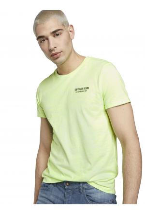 T-shirt with print - 22762/whi