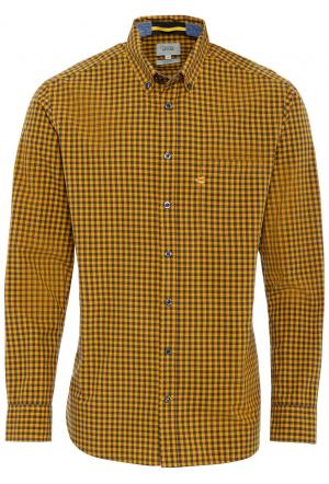 Langarm Hemd in einem Vichykar