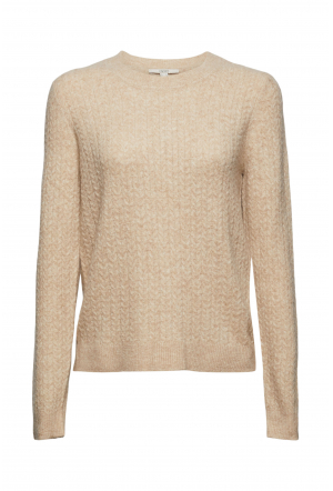 Mit Wolle: Pullover mit Zopstr