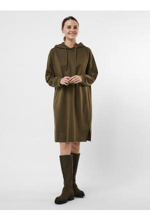 VMALIDA LS SWEAT DRESS JRS - 2