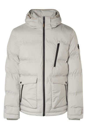 Jacket Short Fit Hooded Padded