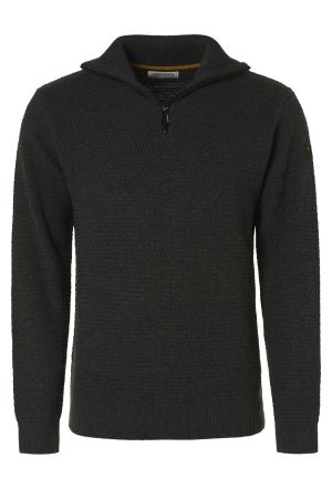 Pullover Half Zipper 2 Coloure