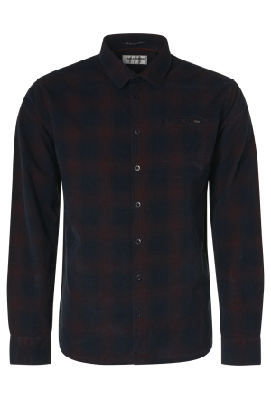 Shirt Yarn Dyed Check Corduroy